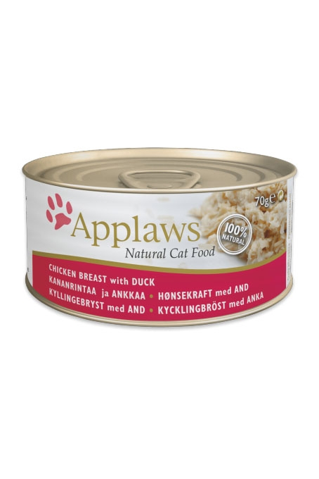 Applaws Chicken Breast & Duck Canned Cat Food