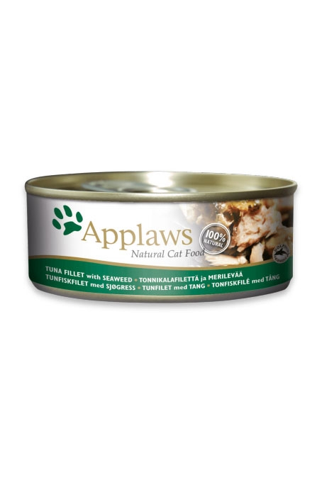 Applaws Tuna Fillet & Seaweed Canned Cat Food