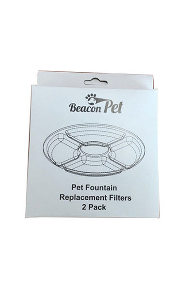 Beacon Pet Flower Fountain Charcoal Filter