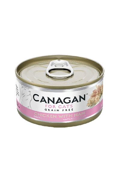 Canagan 無穀物貓罐頭 - 雞肉伴火腿 / Canagan Grain Free Wet Food For Cats - Chicken With Ham