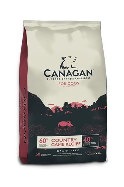 Canagan (原之選) 無穀物狗乾糧 - 田園野味 (鴨肉, 鹿肉, 兔肉)  | Canagan Grain Free Country Game (Duck, Venison, Rabbit) for Dogs