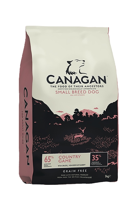 Canagan (原之選) 無穀物狗乾糧 - 小型犬田園野味 (鴨肉, 鹿肉, 兔肉) | Canagan Grain Free Country Game for Small Breed Dogs (Duck, Venison, Rabbit)