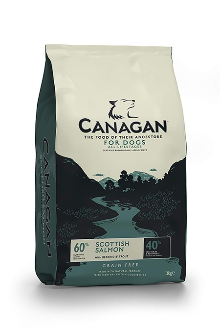 Canagan (原之選) 無穀物狗乾糧 - 蘇格蘭三文魚,鯡魚,鱒魚 | Canagan Grain Free Scottish Salmon with Herring & Trout for Dogs