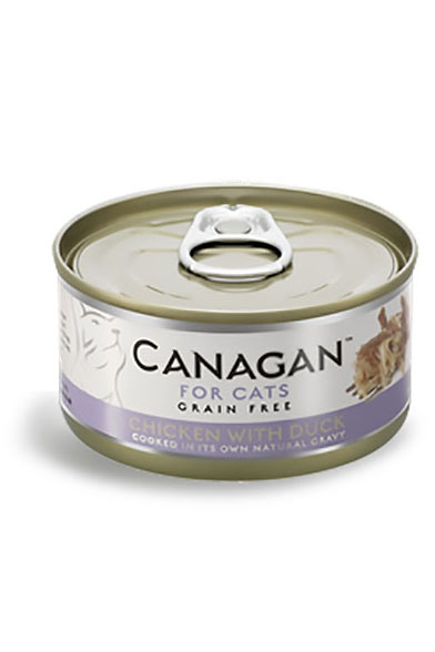 Canagan Grain Free Wet Food for Cats - Chicken with Duck