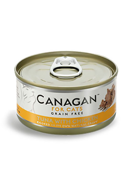 Canagan Grain Free Wet Food for Cats - Tuna with Chicken