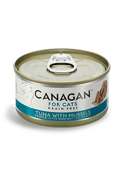 Canagan Grain Free Wet Food for Cats - Tuna with Mussels
