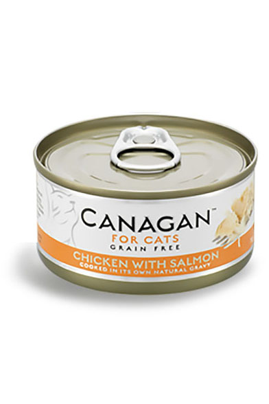 Canagan 無穀物貓罐頭 - 雞肉伴三文魚 / Canagan Grain Free Wet Food for Cats - Chicken with Salmon