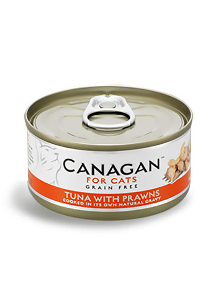 Canagan Grain Free Wet Food for Cats - Tuna with Prawns