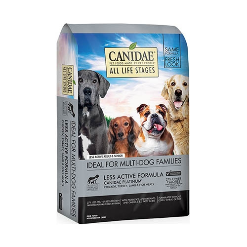 Canidae All Life Stage, Less Active Dog Food