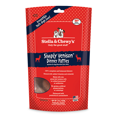 Stella & Chewy's Freeze Dried Simply Venison Dinner