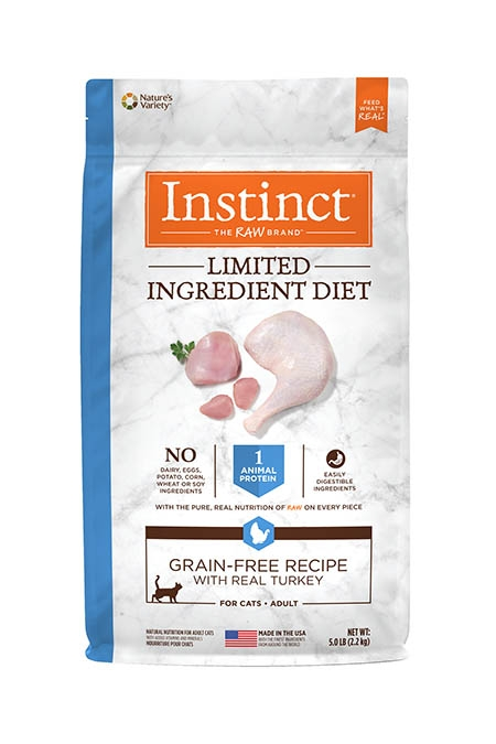 Nature's Variety Limited Ingredient with Real Turkey Cat Food