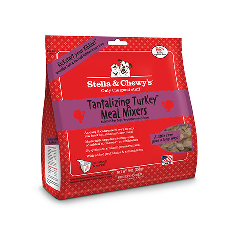 Stella & Chewy's Freeze Dried Tantalizing Turkey Meal Mixers