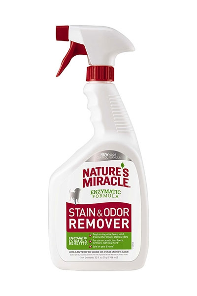 Nature's Miracle Stain & Odor Remover Spray for Dogs