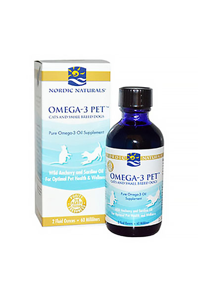 Nordic Naturals, Omega-3 Pet, Cats and Small Breed Dogs