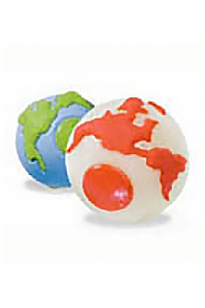 Planet Dog Orbee-Tuff Orbee Ball with Treat Spots