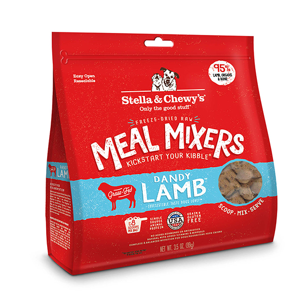 Stella & Chewy's Freeze Dried Dandy Lamb Meal Mixers