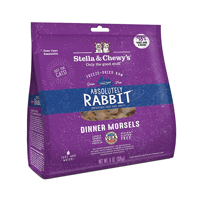 Stella & Chewy's Freeze Dried Absolute Rabbit Dinners