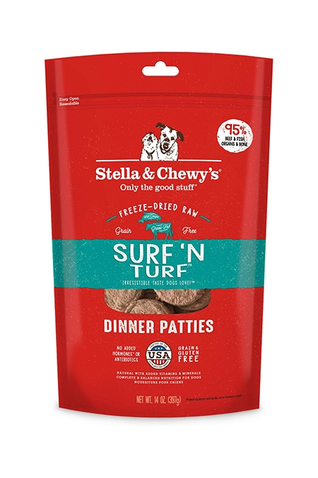 Stella & Chewy's Freeze Dried Surf & Turf Dinner