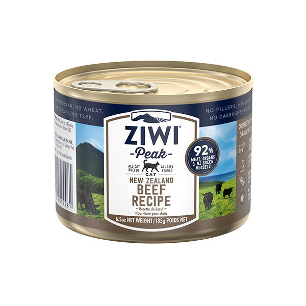 Ziwipeak Beef Canned Food for Cats