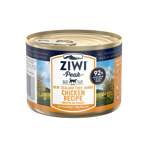 Ziwipeak Chicken Canned Food for Cats