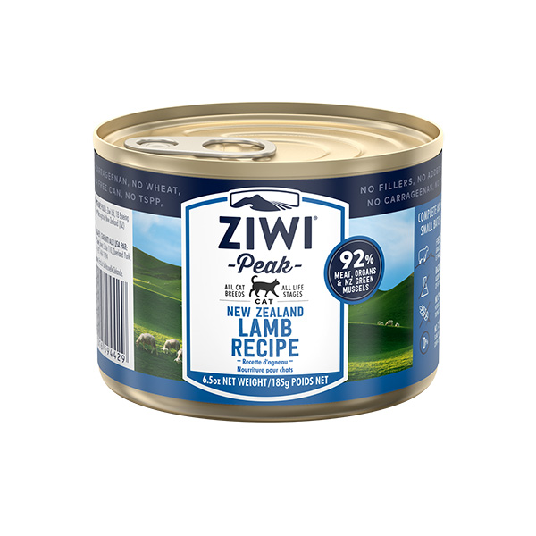 Ziwipeak Lamb Canned Food for Cats