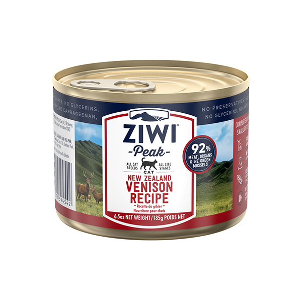 Ziwipeak Venison Canned Food for Cats