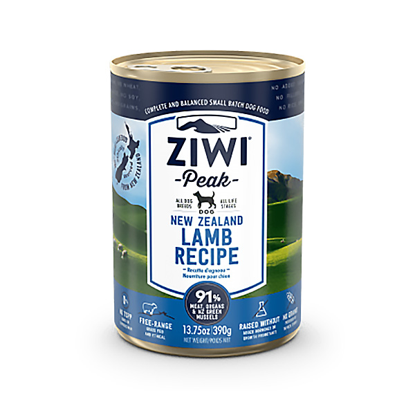 Ziwipeak Lamb Canned Food for Dogs