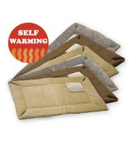 K&H Self-Warming Crate Pad (Tan)