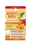 Burt's Bees Coconut & Pear / Mango Butter Lip Balm - Twin Pack
