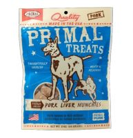 Primal Freeze Dried Pork Liver Munchies